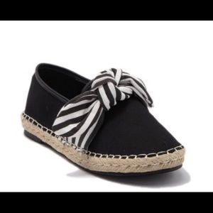 Chase and Chloe Sierra flat espadrilles with bows